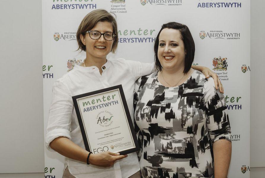 Menter Aberystwyth Aber First Awards 2019