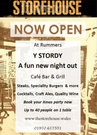 Storehouse at Rummers Now Open